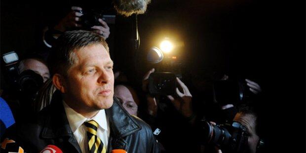 Historischer Wahlsieg für Smer-Partei