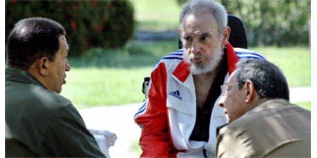 Fidel Castro erstmals seit langem im TV