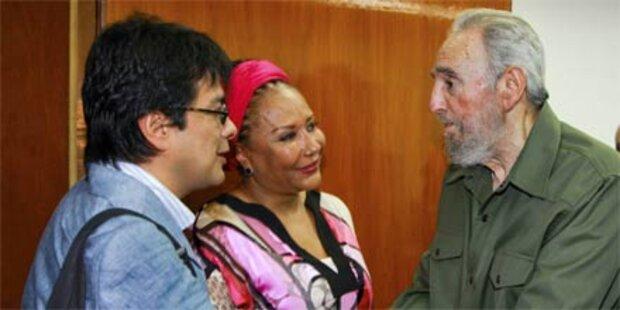 Kuba feiert Fidels 84. Geburtstag