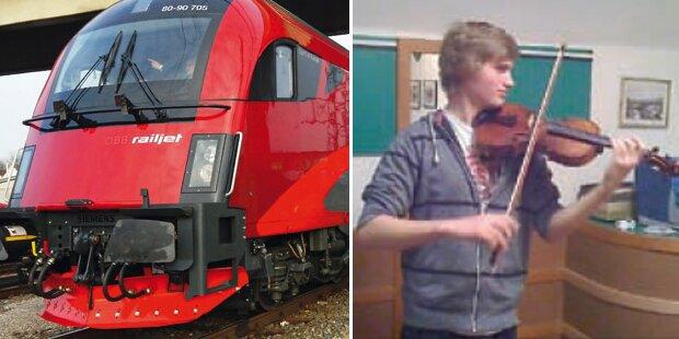Heeres-Musiker im Zug Geige gestohlen