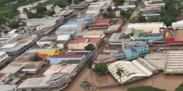 Fidschi-Inseln stehen unter Wasser