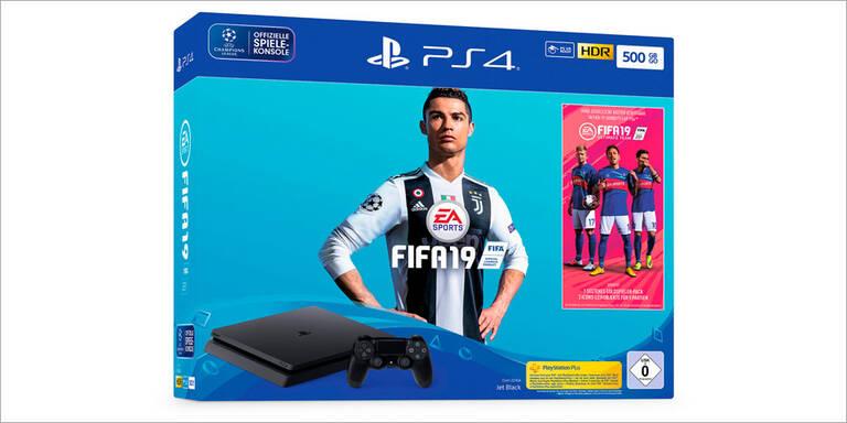 FIFA 19: Drei PS4-Bundles zum Start