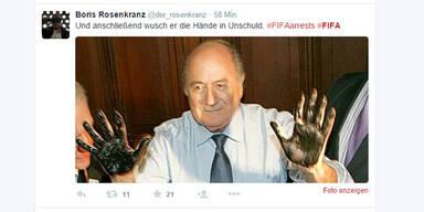Fifa-Festnahmen: So reagiert das Netz