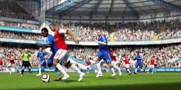 FIFA11 und Crysis 2 auf der Gamescom