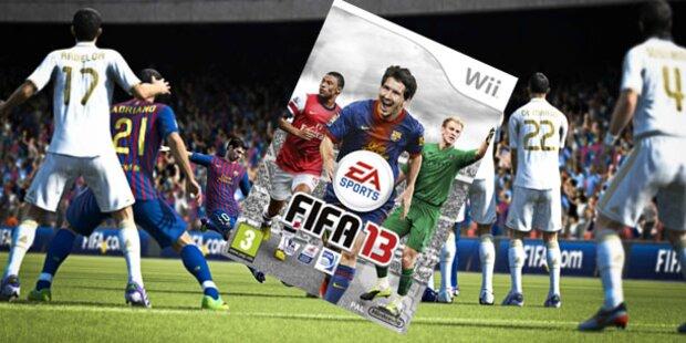 Wii-Version: EA verkauft FIFA 12 als FIFA 13