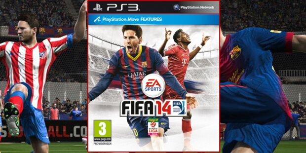FIFA 14: David Alaba ist wieder Coverstar