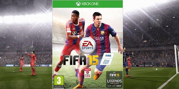 FIFA 15: Alaba ist wieder Cover-Star