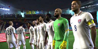 Videospiel Fußball-WM Brasilien 2014 startet