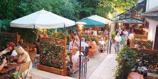 Die besten Schnitzel in Wiener Gastgärten