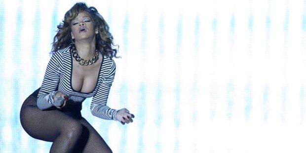 Rihanna: In der U-Bahn zum Konzert