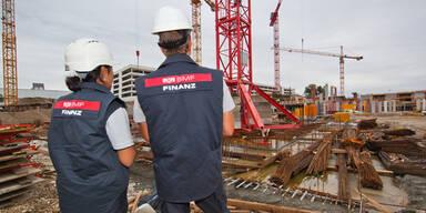 Baustelleneinsatz Finanzpolizei