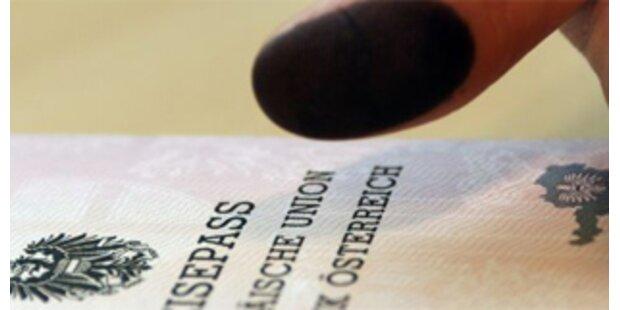Künftig enthalten Reisepässe zwei Fingerabdrücke