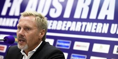 Thorsten Fink bei Austria präsentiert