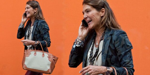 Fiona Swarovski: Luxus-Shopping in Mailand