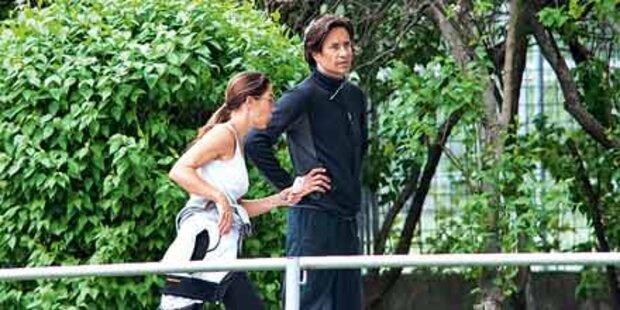 Hier joggen Fiona und KHG durch den Prater