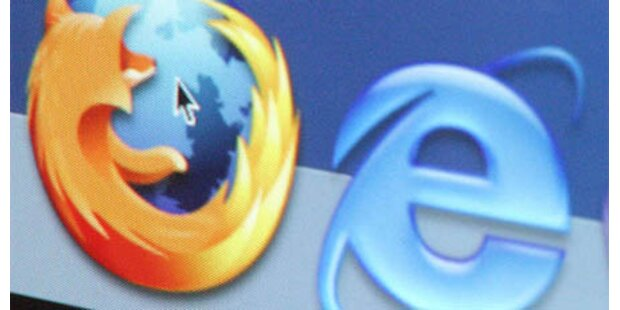 IE-Warnungen wirken: Firefox legt zu