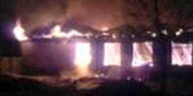 38 Tote bei Brand in Klinik bei Moskau