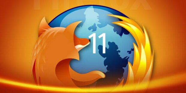 Firefox 11 zum Download verfügbar