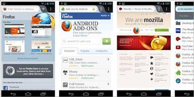 Mozillas Firefox 14 für Android ist da