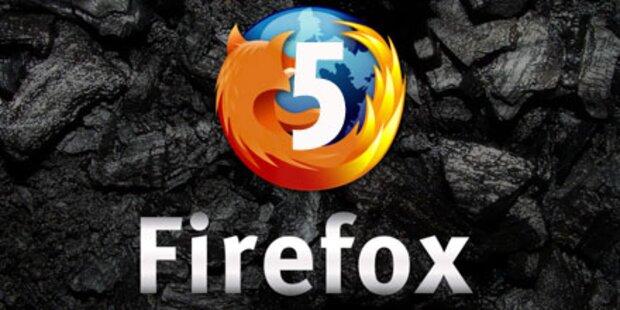 Firefox 5: Fertig zum Downloaden