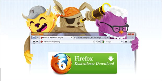 Fertige Version des Firefox 6 ist da