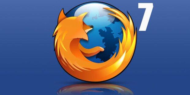 Finale Version des Firefox 7 ist da