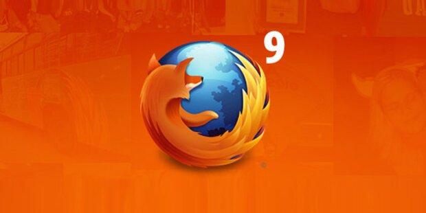 Firefox 9-Download ist ab sofort verfügbar