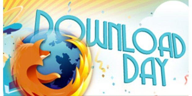 Acht Millionen Firefox-Downloads in 24 Stunden