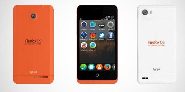 Firefox-Smartphones starten im Juni
