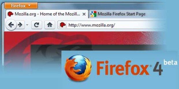 Erste Beta-Version des Firefox 4 startet