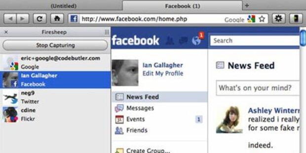 Sicherheitslücke bei Facebook & Co.