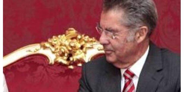 """Bundespräsident Fischer zu Besuch im """"Big Apple"""