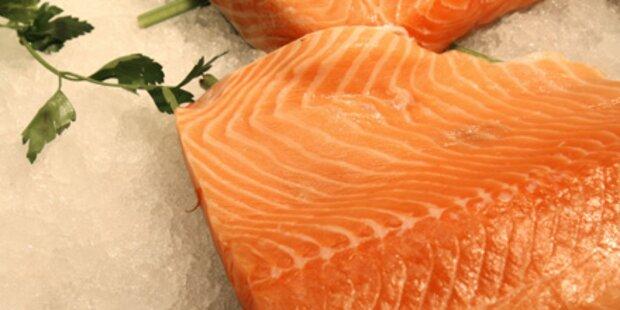 Fisch in Supermärkten oft