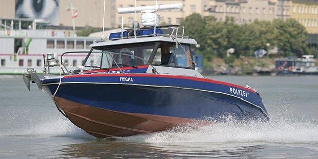 Polizei-Boot in neun Metern Tiefe geortet
