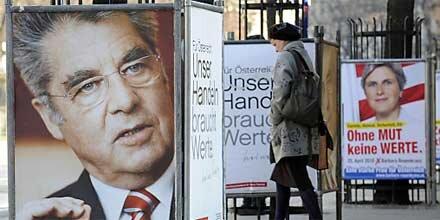 Promi-Aufmarsch für Hofburg-Wahl