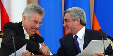 Heinz Fischer Armenien