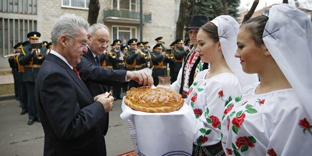 Fischer besucht Republik Moldau