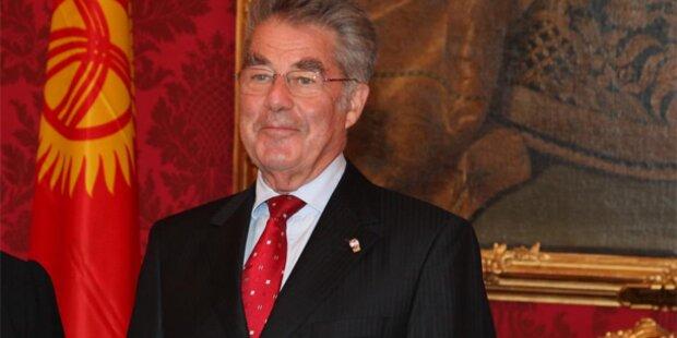 Bundespräsident Fischer kritisiert FPÖ