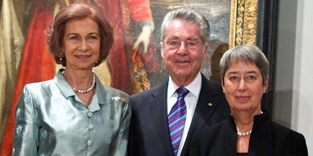 Präsident Fischer in Spanien