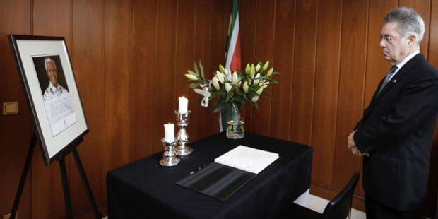 Fischer schwänzt Mandelas Trauerfeier