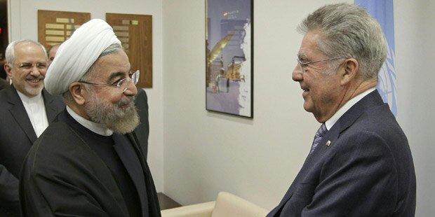 Heinz Fischer verschiebt Reise in den Iran wegen Sanktionen doch