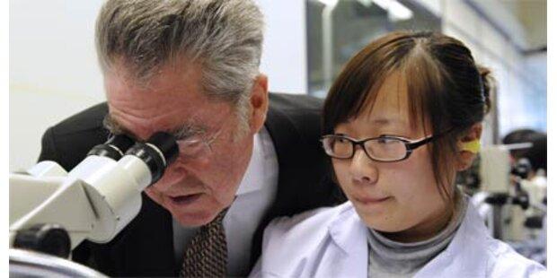 Fischer beendet China-Besuch