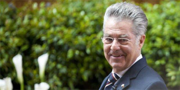 Heinz Fischer trifft in Kroatien ein