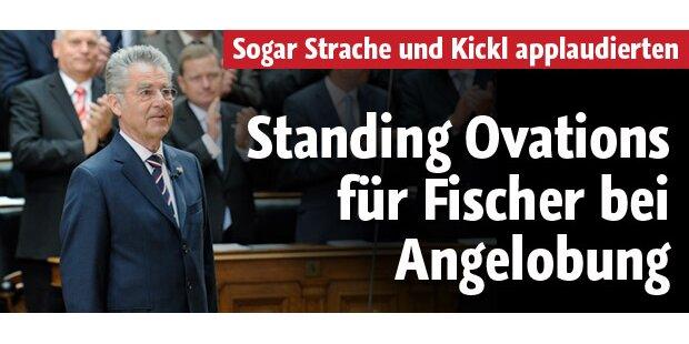 Heinz Fischer zum zweiten Mal angelobt