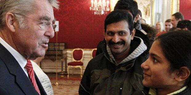 Aus Sri Lanka in die Hofburg