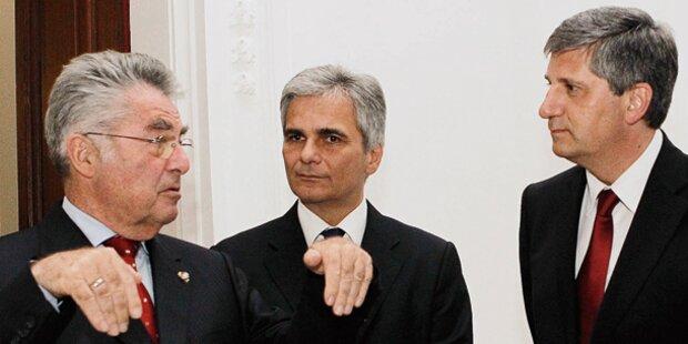Spindelegger & Fischer pro Palästina