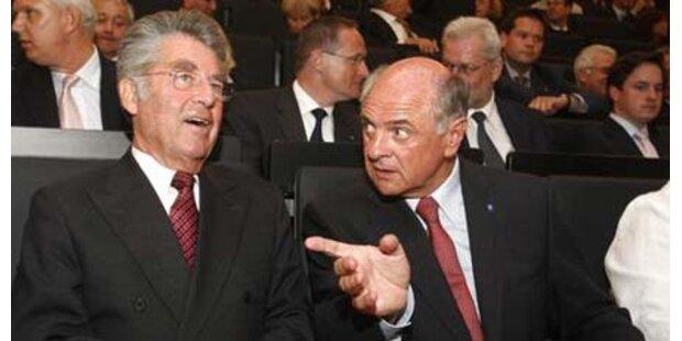 Fischer bei Präsidenten-Frage in Front