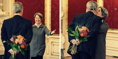 Fischer: Blumen zum Valentinstag