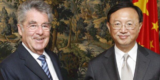 Fischer: Beziehungen zu China auf