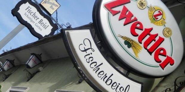 Räuber fesselten Kellnerin in Wien